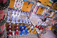 Worshippers during a Cao Dai service at Tay Ninh's Holy See.