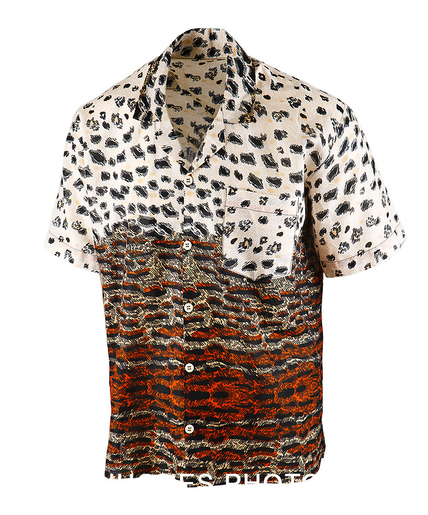Men's African Shirt Photographed on Mannequin