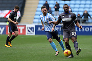 Bury Defender Nathan Cameronduring the Sky Bet League 1 match between Coventry City and Bury at the Ricoh Arena, Coventry, England on 13 February 2016. Photo by Chris Wynne.