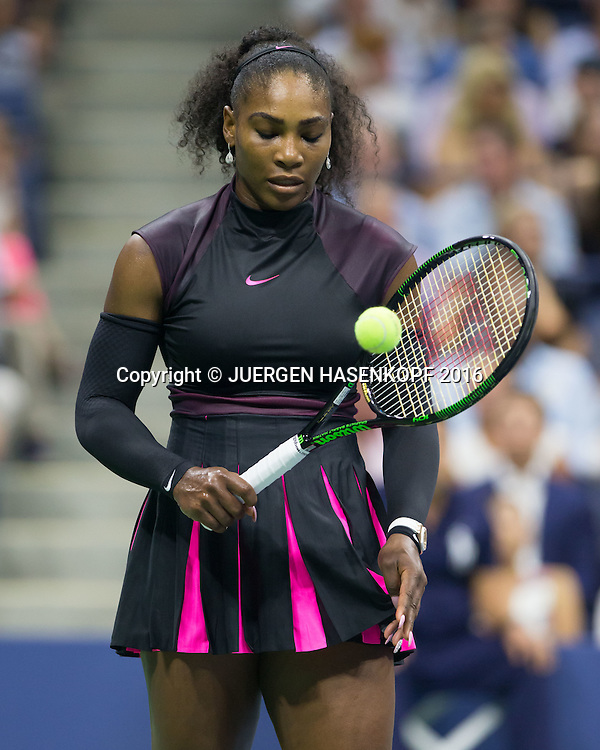 SERENA WILLIAMS (USA)<br /> <br /> Tennis - US Open 2016 - Grand Slam ITF / ATP / WTA -  USTA Billie Jean King National Tennis Center - New York - New York - USA  - 8 September 2016.
