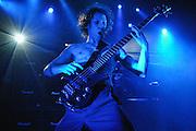 Bassist Ryan Martinie of Mudvayne performing at the Music Box (The Fonda Theater) in Los Angeles. (Charles Hall/challphotos.com)