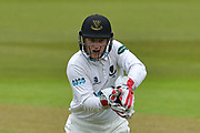Ben Brown during the Specsavers County Champ Div 2 match between Nottinghamshire County Cricket Club and Sussex County Cricket Club at Trent Bridge, West Bridgford, United Kingdon on 21 April 2017. Photo by Simon Trafford.
