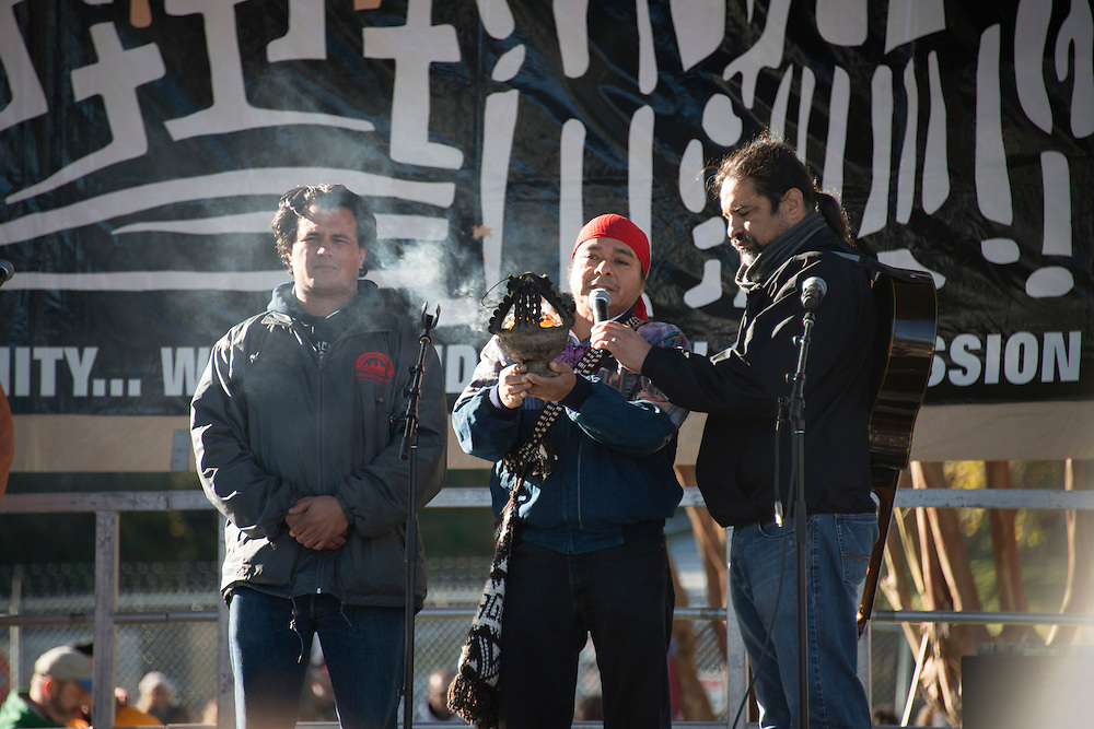 Photograph from the 2015 SOA Watch Vigil: On the morning of Sunday, November 22 peaceful protestors took part in a demonstration at the gates of Fort Benning, the home to the Western Hemisphere Institute for Security Cooperation (WHISEC), formerly known as the School of the Americas. Protestors called for the closure of the facility at which many dictators and military strong men have received training and which can be directly linked to the deaths and war crimes of countless innocent people throughout Central and South America.