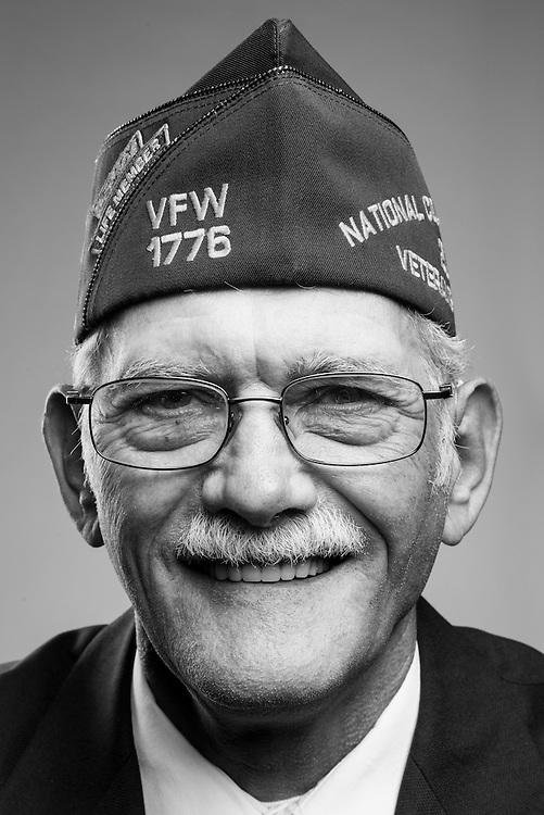 Russel L. Dramstad<br /> Army<br /> E-8<br /> Heavy Equipment Supervisor<br /> Sept. 1966 - Dec. 2001<br /> Vietnam<br /> <br /> Veterans Portrait Project<br /> St. Louis, MO