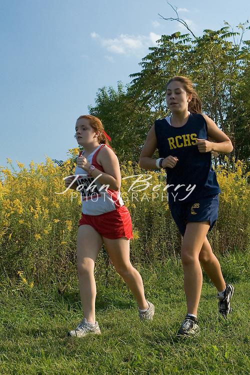 MCHS Girls Cross Country.vs Rappahannock, Clarke, George Mason, Manassas Park .September 27, 2006
