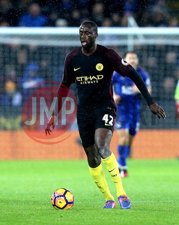 Yaya Toure of Manchester City - Mandatory by-line: Robbie Stephenson/JMP - 10/12/2016 - FOOTBALL - King Power Stadium - Leicester, England - Leicester City v Manchester City - Premier League