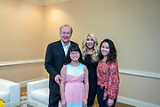 Pictured: Lori Greiner, Dr. James O. Davis with his daughters.<br />