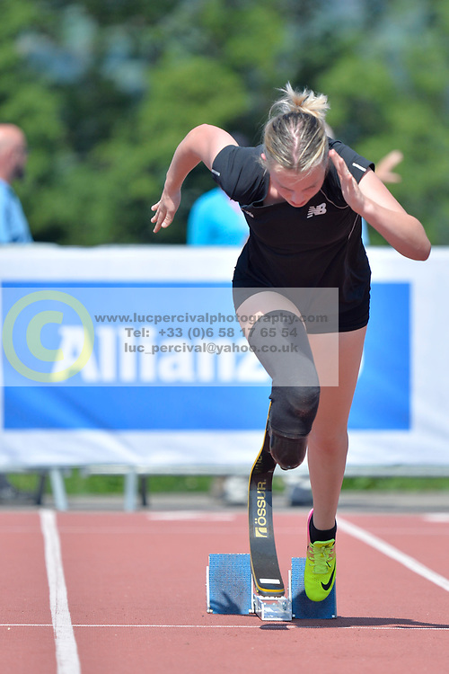 02/08/2017; Steven, Anna, T44, NZL, Training at 2017 World Para Athletics Junior Championships, Nottwil, Switzerland