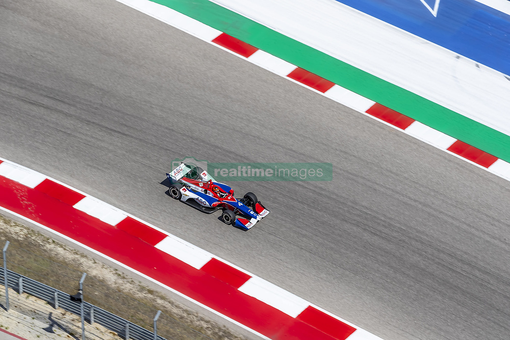 March 22, 2019 - Austin, Texas, U.S. - MATHEUS LEIST (4) of Brazil goes through the turns during practice for the INDYCAR Classic at Circuit Of The Americas in Austin, Texas. (Credit Image: © Walter G Arce Sr Asp Inc/ASP)