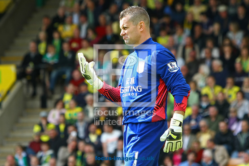 Picture by Paul Chesterton/Focus Images Ltd.  07904 640267.13/05/12.Shay Given of Aston Villa during the Barclays Premier League match at Carrow Road Stadium, Norwich.