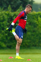 © Licensed to London News Pictures. 01/06/2016. London, UK. JAMES VARDY training with England team at Watford Training Ground on Wednesday, 1 June 2016, ahead of the Euro 2016 in France. Photo credit: Tolga Akmen/LNP