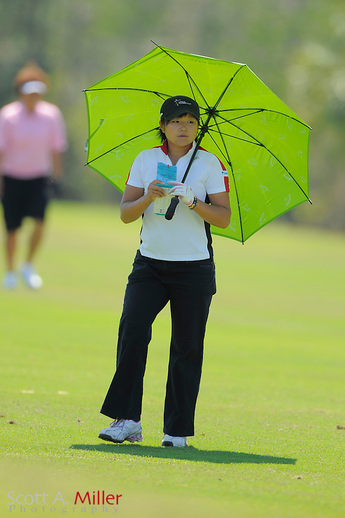 Junko Nakada from Fukushima, Japan during the second round of the LPGA Futures Tour's Daytona Beach Invitational at LPGA International's Championship Course on April 2, 2011 in Daytona Beach, Florida... ©2011 Scott A. Miller
