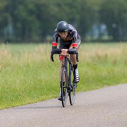 19-06-2019: Wielrennen: NK tijdrijden nieuwelingen junioren: Emmen <br /> Senna Nijman