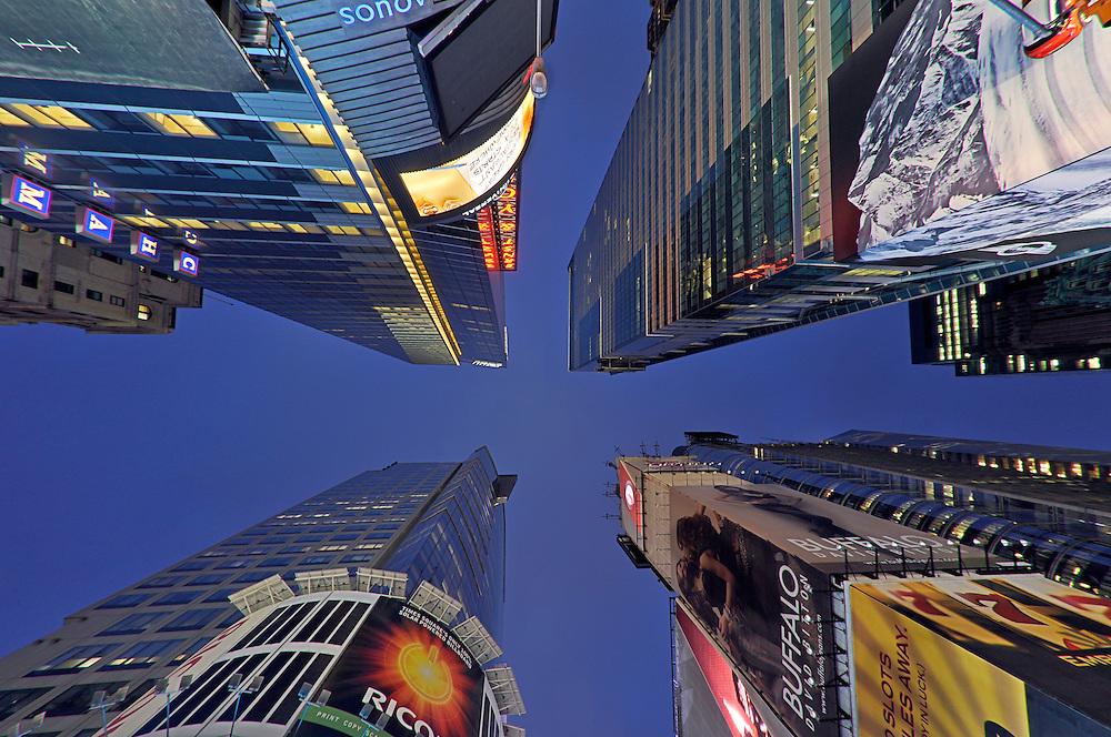 Times Square, 42 Street, Night, Manhattan, New York City, New York, USA