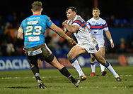 Anthony England of Wakefield Trinity in action during the Betfred Super League match at Belle Vue, Wakefield<br /> Picture by Richard Land/Focus Images Ltd +44 7713 507003<br /> 09/02/2018
