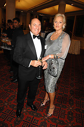 MR ARNOLD CROOK of the Theatre Royal Haymarket  and his wife JEANNE MANDRY at a Gala dinner in aid of Chickenshed held at the Guildhall, City of London on 29th October 2007.<br /><br />NON EXCLUSIVE - WORLD RIGHTS