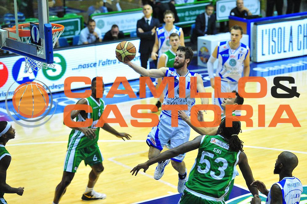 DESCRIZIONE : Sassari Lega A 2012-13 Dinamo Sassari - Sidigas Avellino<br /> GIOCATORE :Drake Diener<br /> CATEGORIA :Tiro<br /> SQUADRA : Dinamo Sassari<br /> EVENTO : Campionato Lega A 2012-2013 <br /> GARA : Dinamo Sassari - Sidigas Avellino<br /> DATA :11/11/2012<br /> SPORT : Pallacanestro <br /> AUTORE : Agenzia Ciamillo-Castoria/M.Turrini<br /> Galleria : Lega Basket A 2012-2013  <br /> Fotonotizia : Sassari Lega A 2012-13 Dinamo Sassari - Sidigas Avellino<br /> Predefinita :