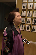 SUZY MENKES, Vogue100 A Century of Style. Hosted by Alexandra Shulman and Leon Max. National Portrait Gallery. London. WC2. 9 February 2016.