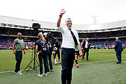 Excelsior coach Adrie Poldervaart after the Dutch football Eredivisie match between Feyenoord and Excelsior at De Kuip Stadium in Rotterdam, on August 19th, 2018 - Photo Stanley Gontha / Pro Shots / ProSportsImages / DPPI - Photo Stanley Gontha / Pro Shots / ProSportsImages / DPPI<br /> Feyenoord - Excelsior 3-0.