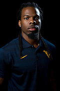 DALLAS, TX - JULY 22:  West Virginia wide receiver Kevin White poses for a portrait during the Big 12 Media Day on July 22, 2014 at the Omni Hotel in Dallas, Texas.  (Photo by Cooper Neill/Getty Images) *** Local Caption *** Kevin White