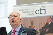 Conservative Party Conference, Manchester, Great Britain <br /> 3rd October 2011 <br /> <br />  Conservative Friends of Israel <br /> fringe meeting <br /> <br /> Alistair Burt <br /> Parliamentary Under Secretary of State Foreign &amp; Commonwealth Office<br /> <br /> <br /> <br /> Photograph by Elliott Franks