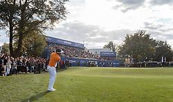 27.09.2015, Beckenbauer Golf Course, Bad Griesbach, GER, PGA European Tour, Porsche European Open, im Bild Thongchai Jaidee (THA) // Thongchai Jaidee (THA) during the European Tour, Porsche European Open Golf Tournament at the Beckenbauer Golf Course in Bad Griesbach, Germany on 2015/09/27. EXPA Pictures © 2015, PhotoCredit: EXPA/ JFK