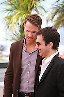 Actor Ryan Reynolds and Director Atom Egoyan at the photocall for the film Captives at the 67th Cannes Film Festival, Friday 16th May 2014, Cannes, France.
