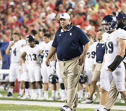 September 16, 2017 - Houston, TX, USA - Rice Owls head coach David Cutcliffe during the second quarter of the college football game between the Houston Cougars and the Rice Owls at TDECU Stadium in Houston, Texas. (Credit Image: © Scott W. Coleman via ZUMA Wire)