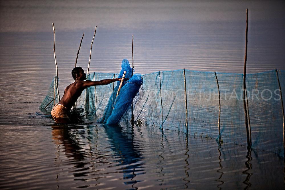 Chilka Lake, Orissa, india