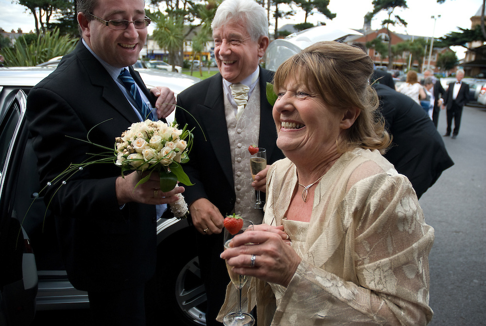 Documentary wedding photography by Derek Knight.
