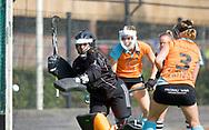 GRONINGEN - Hoofdklasse dames.<br /> Groningen v HDM<br /> Foto:  redding Jantien Gunter <br /> WORLDSPORTPICS COPYRIGHT FRANK UIJLENBROEK
