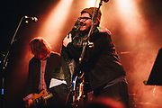 Colin Meloy performing with members of R.E.M. at Help The Hoople, a benefit for Scott McCaughey, at the Wonder Ballroom in Portland, OR - Jan 6, 2018. Photo by Jason Quigley.