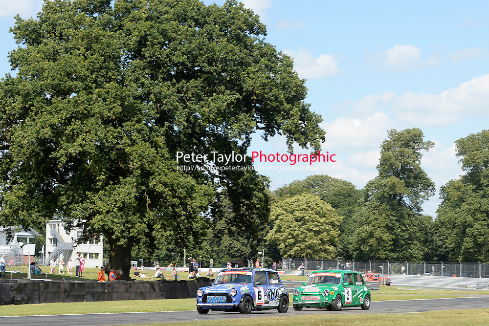 #6 Ashley Davies Mini 7 during Mini Se7en - Race 1  as part of the Mini Festival  at Oulton Park, Little Budworth, Cheshire, United Kingdom. August 08 2015. World Copyright Taylor/PSP. Copy of publication required for printed pictures.  Every used picture is fee-liable. http://archive.petertaylor-photographic.co.uk