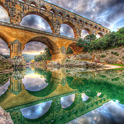 Standing majestically over the Gardon River & dating back to the 1st century AD, the 3 level Pont du Gard is the most famous Roman aqueduct in the world, and the largest free standing structure outside of Italy to this day.