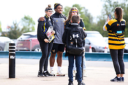 Paolo Odogwu of Wasps meets fans - Mandatory by-line: Robbie Stephenson/JMP - 12/10/2019 - RUGBY - Ricoh Arena - Coventry, England - Wasps v Worcester Warriors - Premiership Rugby Cup