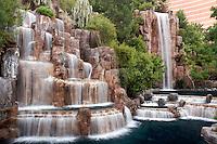 Waterfalls at the Wynn Hotel Resort, Las Vegas, Nevada