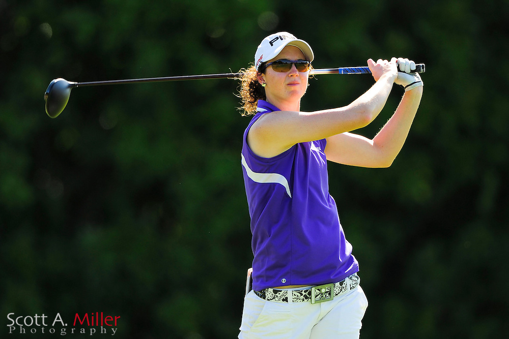 Katie Kempter during the final round of the Symetra Tour's Guardian Retirement Championship at Sara Bay in Sarasota, Florida April 28, 2013. ..©2013 Scott A. Miller