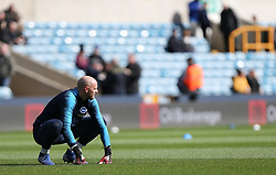 David Button of Brighton and Hove Albion during the warm up - Mandatory by-line: Arron Gent/JMP - 17/03/2019 - FOOTBALL - The Den - London, England - Millwall v Brighton and Hove Albion - Emirates FA Cup Quarter Final