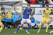 Eastleigh FC Defender Joe Partington during the Vanarama National League match between Southport and Eastleigh at the Merseyrail Community Stadium, Southport, United Kingdom on 17 December 2016. Photo by Pete Burns.