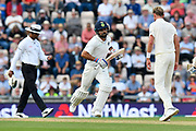 Virat Kohli (captain) of India runs while batting during day two of the fourth SpecSavers International Test Match 2018 match between England and India at the Ageas Bowl, Southampton, United Kingdom on 31 August 2018.