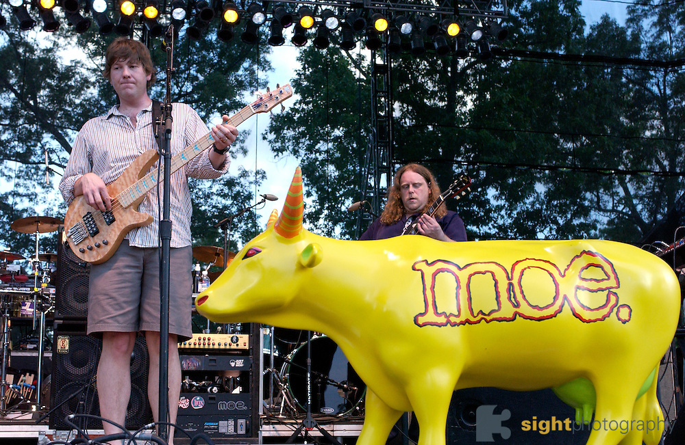 Manchester, TN.  2003 Bonnaroo Music Festival. moe. performs at Bonnaroo 2004. Mandatory Credit: Bryan Rinnert/3Sight Photography..