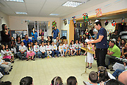 Hannukah celebration in a kindergarten in Israel