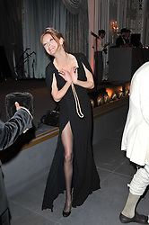 OLIVIA INGE at Quintessentially's 10th birthday party held at The Savoy Hotel, London on 13th December 2010.