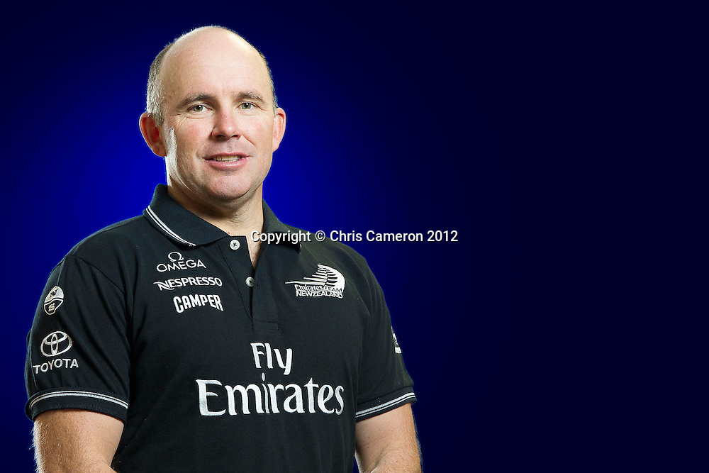 Ray Davies - Emirates Team New Zealand sailor, 24 December 2012. Photo: Chris Cameron