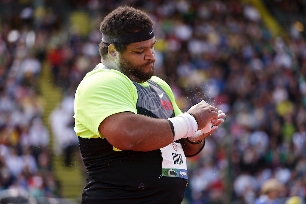 Reese Hoffa, Shot Put, Trials champion, Olympian