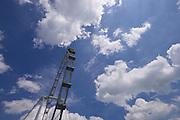 Singapore Flyer Ferris wheel.