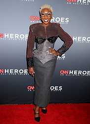 December 9, 2018 - New York City, New York, U.S. - Actress CYNTHIA ERIVO attends the 12th Annual CNN Heroes: An All-Star Tribute held at the American Museum of National History. (Credit Image: © Nancy Kaszerman/ZUMA Wire)