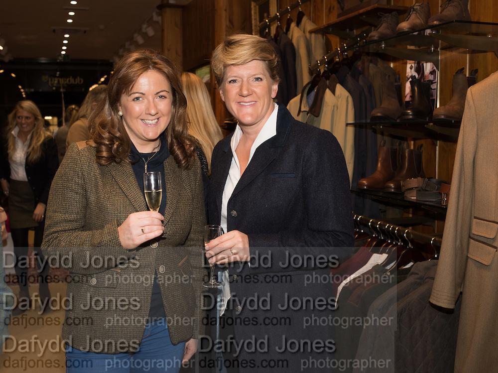 LAURA EGAN; CLARE BALDING, Tatler and Dubarry host an evening with Clare Balding, Dubarry of Ireland, 34 Duke of York's Sq. London. 13 October 2016.