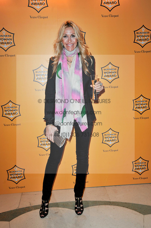 MELISSA ODABASH at the 38th Veuve Clicquot Business Woman Award held at Claridge's, Brook Street, London W1 on 28th March 2011.