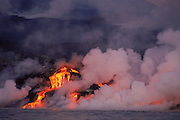 Volcanic Eruption - February 1995<br /> Cabo Hammond, Fernandina Island, Galapagos, ECUADOR<br /> South America